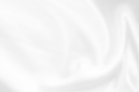 Abstract white fabric cloth texture blur background