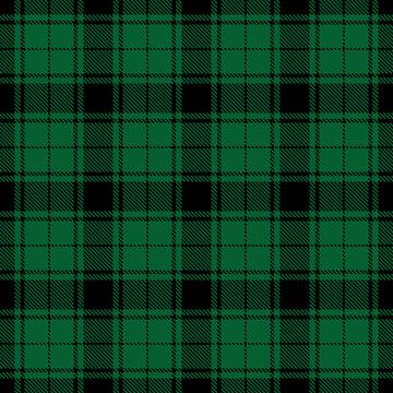 Tartan check seamless pattern. Christmas plaid background