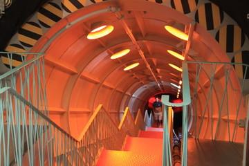 Tunel de science fiction