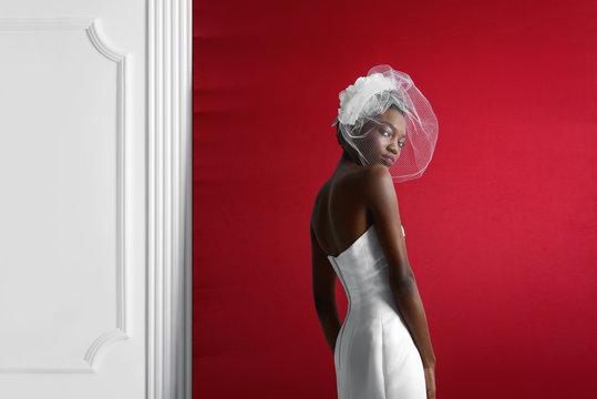 fashion - cool wedding photo shoot with the bride
