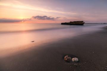 Playa de La Galera en Aguilas, Murcia., dentro del Parque Regional de Cabo Cope y Puntas de Calnegre  se encuentra esta preciosa playa