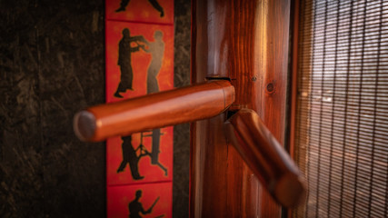 wing chun kung fu wooden dummy martial arts