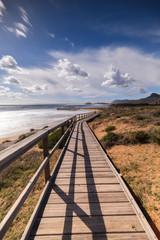 Cala Magre, preciosa playa dentro del parque natural de Calblanque en Cartagena, Murcia
