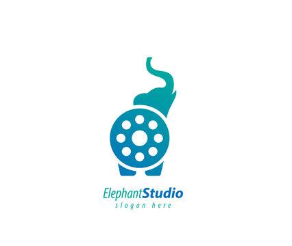 Elephant Cinema design logo