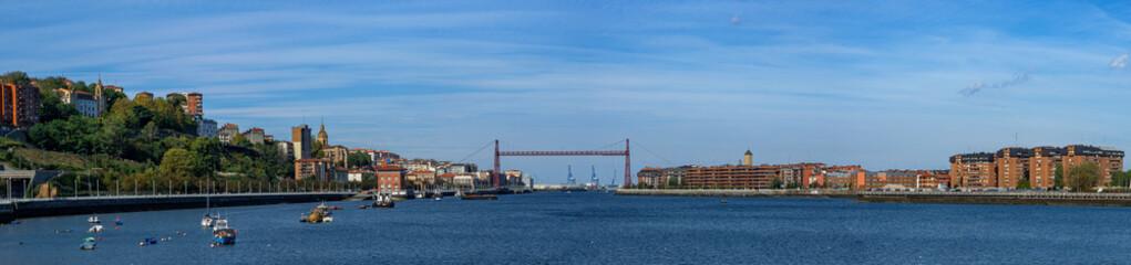 Foto op Canvas Scandinavië Puente Bizkaia