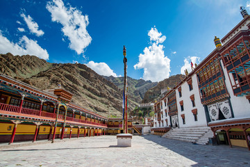 view if Tibetan Hemis monastery - Ladakh, Jammu and Kashmir ,India