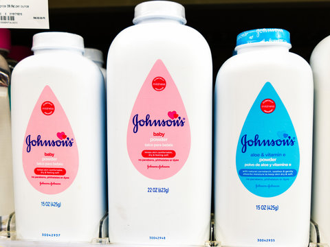Oct 24, 2019 Sunnyvale / CA / USA - Johnson's Baby Powder available in an Walgreens pharmacy; Johnson & Johnson issued a recall after testing found trace amounts of asbestos in a single bottle