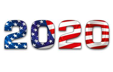 presidential election 2020 USA banner