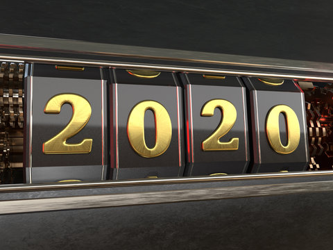 Gold number 2020 style slot machines