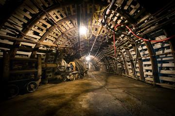 Fototapeta kopalnia górnictwo przemysł