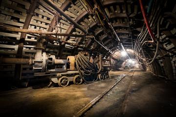 Fototapeta kopalnia górnictwo przemysł obraz