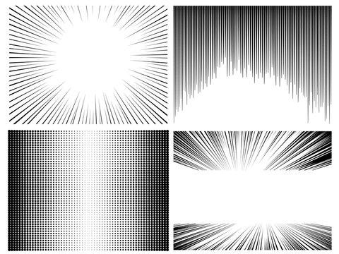 black and white 4 manga and comic screen tone