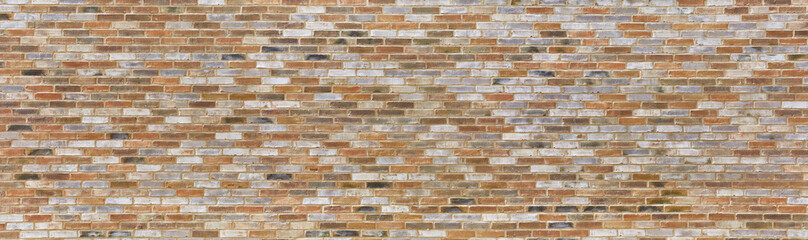 Spoed Foto op Canvas Baksteen muur Beautiful colorful brick wall