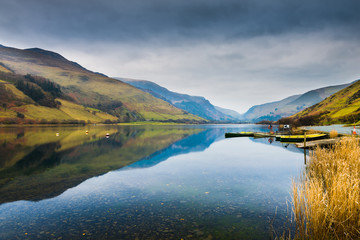 Beautiful landscape in Snowdonia, Wales, UK.