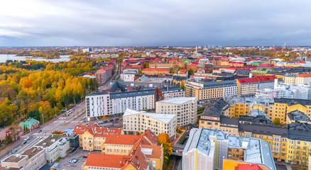 Panoramic view of Helsinki, Finland