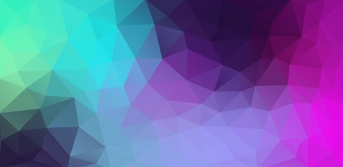 Extreme colorful flat background with triangles shapes