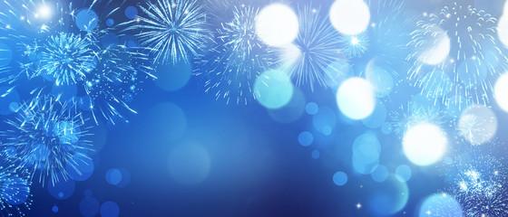 Wunderschönes Feuerwerk Fotomurales