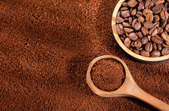 Coffee blends, ground and roasted coffee beans - Coffea