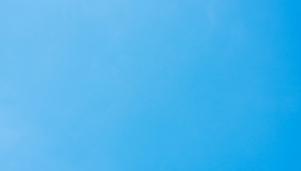Clear blue sky background color with cloudless, banner, panorama photo