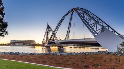 Matagarup Bridge, Perth, Western Australia