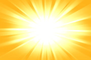 light Background With Sun Burst Wall mural