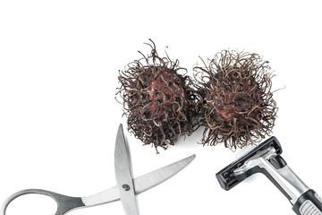 Dried rambutan and Hair removal equipment