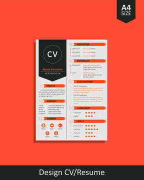 Cool Design CV/Resume