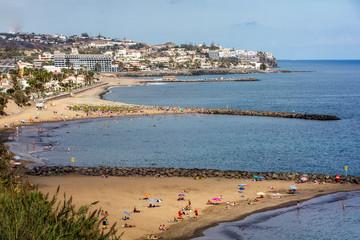 Strände von San Agustin auf Gran Canaria