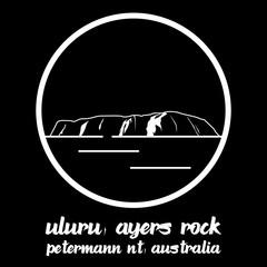 Bangkok, Thailand - 10/31/2019: Uluru ayers sand rock mountain in petermann nt Australia vector line icon.