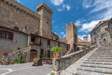 The Castle of Bolsena (Castello Rocca Monaldeschi) Viterbo, Italy.