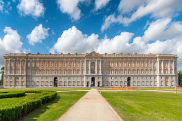 The Royal Palace of Caserta (Reggia di Caserta) a former royal residence in Caserta, southern Italy.