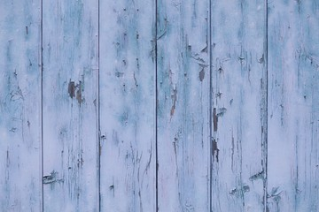 Fototapeta old dark and blue wooden texture background with vintage toned  P obraz