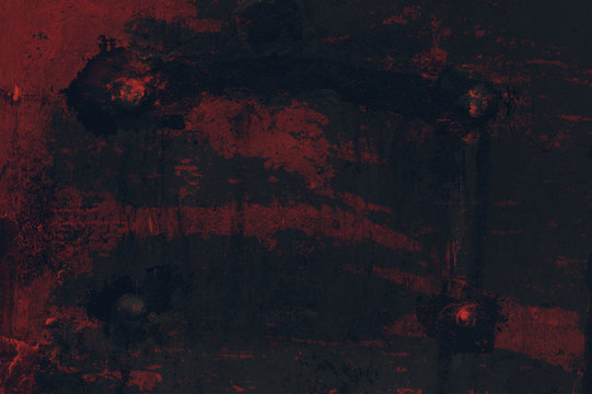 Abstract gritty background - dark, dim, murky and gloom texture - negative, spooky and mysterious style