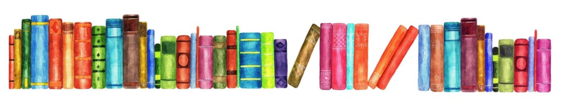 Books, watercolor (4)