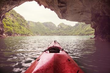 Canoe in Vietnam