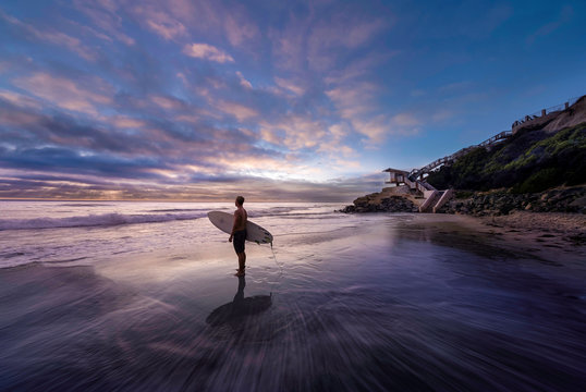 Solana Beach Surfer