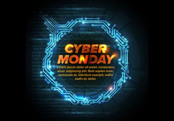 Cyber Monday Post Layout