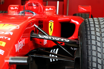ferrari Formula 1 racing car, italian design
