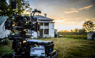 Digital Cinema Camera at Sunrise