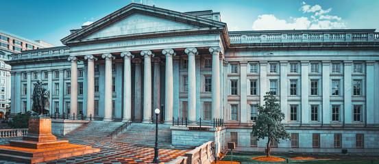 Washington, USA, US Treasury Department and Inspector General Office. Fototapete