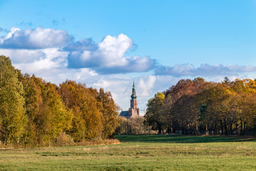 Blick zum Greifswalder Dom