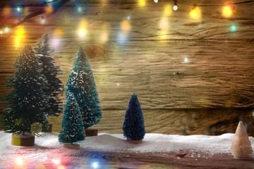 Christmas festive backdrop