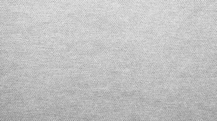 Closeup of cotton mixed with polyester fabric in black and white tone for textile and bright background. Monochrome seamless pattern Fotomurales