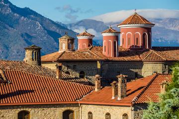 Roof Of Monastery of St. Stephen - Meteora, Greece