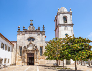 The Cathedral of Aveiro, also known as the Church of St. Dominic is a Roman Catholic cathedral in Aveiro, Portugal