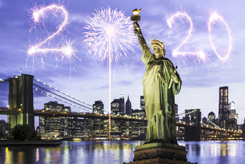 New Year 2020 in New York