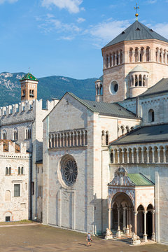 Trento (Italy) - San Vigilio Cathedral, a Roman Catholic cathedral in Trento, northern Italy