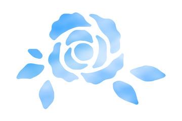 空色の薔薇