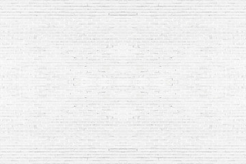 Abstract weathered texture stained old stucco light gray. White brick wall background in rural room. Texture horizontal wallpaper. Fototapete