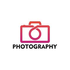 Modern Photography Logo Template Design